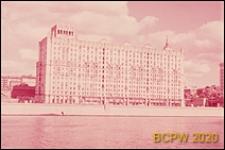 Dom generalski na Nabrzeżu Smoleńskim nr 5/13, widok ogólny od strony rzeki Moskwy, Moskwa, Rosja