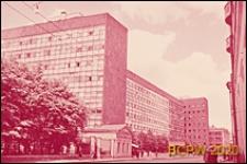 Budynek Centrosojuzu, widok ogólny od strony ulicy Miasnickiej, Moskwa, Rosja