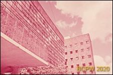 Budynek Centrosojuzu, fragment elewacji frontowej budynku, Moskwa, Rosja