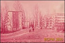 Osiedle mieszkaniowe, fragment zabudowy, Moskwa, Rosja