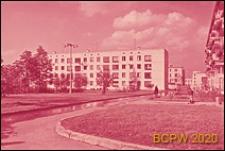 Osiedle Czeremuszki, kwartał 9, fragment zabudowy, Moskwa, Rosja