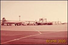 Płyta lotniska, widok ogólny, Gatwick Airport, Anglia, Wielka Brytania