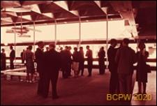 VI Kongres UIA, fragment wnętrza pawilonu biurowego, Londyn, Wielka Brytania