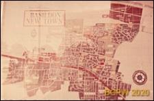 Plan miasta, Basildon, Anglia, Wielka Brytania