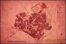 Plan miasta nr 1, Hemel Hempstead, Anglia, Wielka Brytania