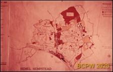 Plan miasta nr 2, Hemel Hempstead, Anglia, Wielka Brytania