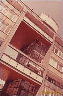 Blok mieszkalny, loggie, Londyn, Wielka Brytania