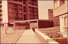 Osiedle mieszkaniowe Brandon Estate, fragment zabudowy mieszkaniowej, Londyn, Wielka Brytania