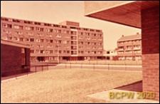Osiedle mieszkaniowe Brandon Estate, wnętrze międzyblokowe, Londyn, Wielka Brytania
