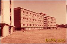 Osiedle mieszkaniowe Brandon Estate, blok mieszkalny pięciokondygnacyjny, widok zewnętrzny, Londyn, Wielka Brytania
