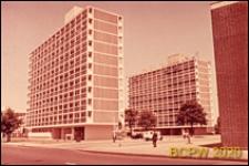 Osiedle mieszkaniowe Loughborough Road Estate, wieżowce mieszkalne, widok ogólny, Londyn, Wielka Brytania