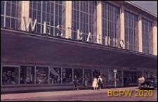 Dworzec Zachodni, wejście główne, Wiedeń, Austria