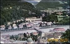 Dzielnica Hohen, widok z lotu ptaka, Salzburg, Austria
