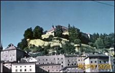 Fragment zabudowy miasta, Salzburg, Austria