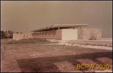 Kabiny plażowe, widok zewnętrzny, Złote Piaski, Bułgaria