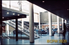 Biuro Linii Lotniczych w hotelu SAS, wnętrze, Kopenhaga, Dania