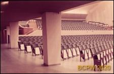 Sala Koncertowa, wnętrze, widownia, Turku, Finlandia