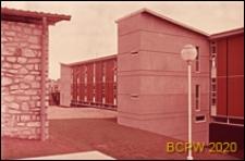 Szkoła, widok ogólny, Bagneaux, Francja