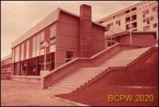 Szkoła, pawilon dyrekcji, widok zewnętrzny, Bagneaux, Francja