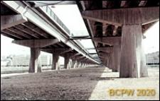 Wioska Olimpijska, wiadukt, elementy konstrukcji, Rzym, Włochy