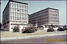 Dzielnica Esposizione Universale di Roma, gmach Ministerstwa Zdrowia, widok zewnętrzny, Rzym, Włochy