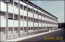 Dzielnica Esposizione Universale di Roma, budynek szkoły, widok zewnętrzny, Rzym, Włochy
