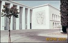 Dzielnica Esposizione Universale di Roma, gmach Muzeum Sztuki, widok zewnętrzny, Rzym, Włochy