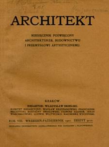 Architekt 1907 z. 9-10