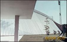 Welodrom, przekrycie aluminiowe, widok z podcienia, Rzym, Włochy