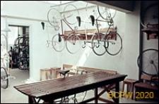 Welodrom, pomieszczenia pomocnicze dla przechowywania rowerów, Rzym, Włochy