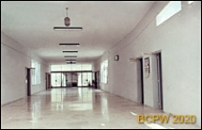 Welodrom, pawilon pomieszczeń pomocniczych, hall, Rzym, Włochy