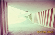 Welodrom, tunel dla zawodników, Rzym, Włochy