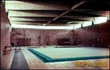 Ośrodek sportowy Acqua Acetosa, hala treningowa, wnętrze, Rzym, Włochy