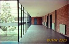 Ośrodek sportowy Acqua Acetosa, hala treningowa, wnętrze, kuluary, Rzym, Włochy