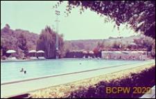 Ośrodek sportowy Acqua Acetosa, pływalnia, widok ogólny, Rzym, Włochy