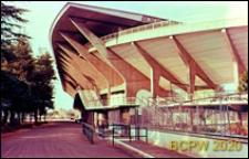 Stadion Flaminio, fragment konstrukcji trybun, Rzym, Włochy