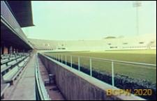 Stadion Flaminio, bariera między boiskiem a trybunami, Rzym, Włochy
