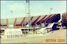 Stadion Flaminio, schody zewnętrzne prowadzące na trybuny stadionu, Rzym, Włochy