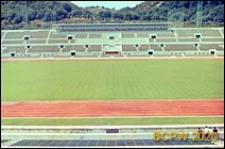 Stadion Olimpijski, fragment bieżni i boiska, Rzym, Włochy