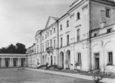 Fasada pałacu Branickich w Białymstoku
