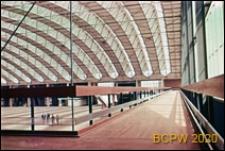 Centrum wystawowo-kongresowe RAI, hala Europahal RAI, widok z antresoli, Amsterdam, Niderlandy