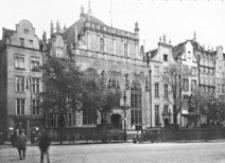 Fasada Dworu Artusa w Gdansku