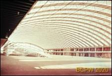 Centrum wystawowo-kongresowe RAI, hala Europahal RAI, wnętrze, Amsterdam, Niderlandy