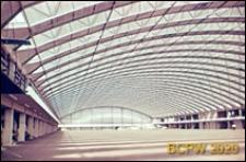 Centrum wystawowo-kongresowe RAI, wnętrze hali Europahal RAI, Amsterdam, Niderlandy