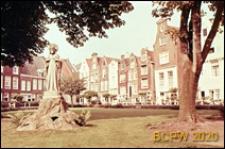 Figura Najświętszego Serca Pana Jezusa w Begijnhof, Amsterdam, Niderlandy