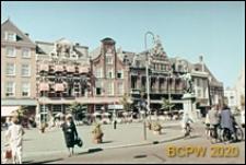 Plac Grote Markt w centrum miasta, Haarlem, Niderlandy