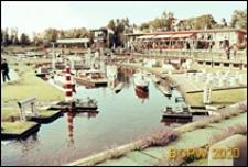 Park miniatur Madurodam, miniatura portu, Haga, Niderlandy