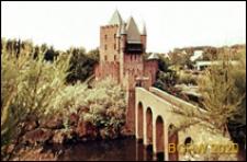 Park miniatur Madurodam, miniatura zamku, Haga, Niderlandy
