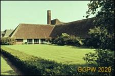 Szkoła imienia Carela Fabritiusa, widok od strony ogrodu, Hilversum, Niderlandy