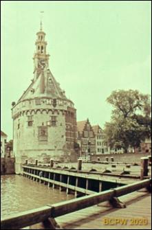 Baszta portowa, widok ogólny, Hoorn, Niderlandy